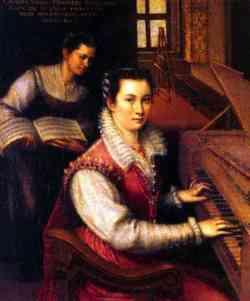 Lavinia Fontana - Autoritratto 1577