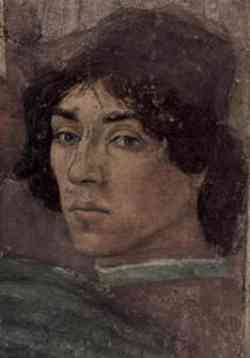 Autoritratto Filippino Lippi