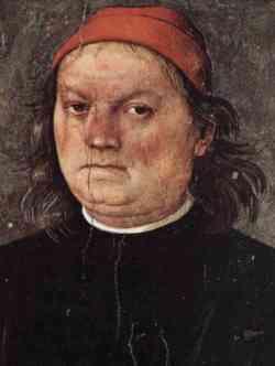 Perugino - Autoritratto 1496