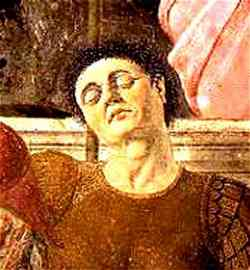 Autoritratto di Piero della Francesca