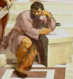 """Raffaello Sanzio ne """"La Scuola di Atene"""""""