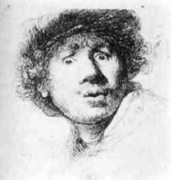 Harmenszoon van Rijn Rembrandt.- Autoritratto 1630