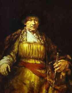 Rembrandt  - (il re) Autoritratto 1658