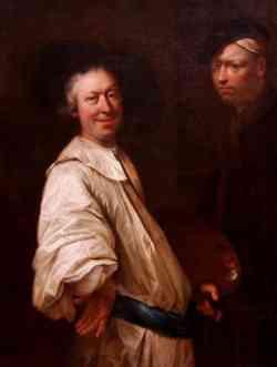 Autoritratto di Salomon Adler 1690 circa