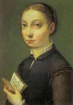 Sofonisba Anguissola - Autoritratto 1560