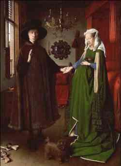 Jan Van Eyck, I coniugi Arnolfini, 1434