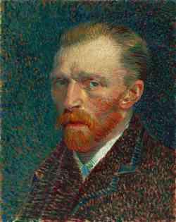 Vincent van Gogh - Autoritratto 1887