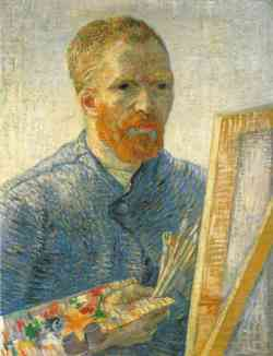 Vincent van Gogh - Autoritratto 1888