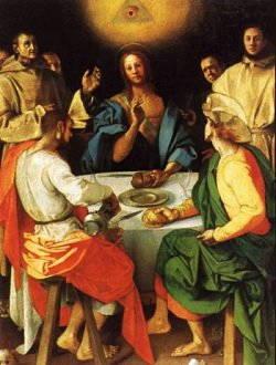 Storia della Cena in Emmaus