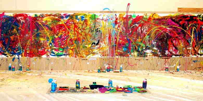 Action painting 1
