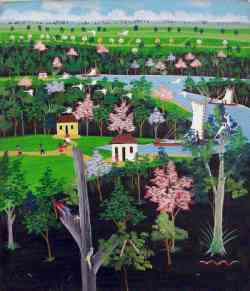 Art Naif - Paesaggio