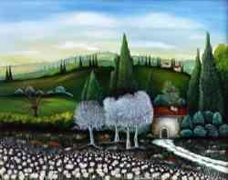 Art Naif italiana Claudia Vecchiarelli