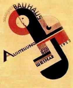 Corrente Scuola Bauhaus - Logo Esposizione 1923