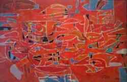 Corrente Co.Br.A. - G.Colligon - Composition rouge 1949