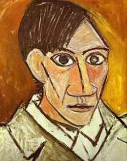 Pablo Picasso - Autoritratto 1907