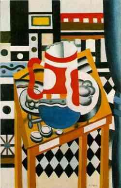 Fernand Lèger-Still Life with a Beer Mug 1921- Corrente Cubista