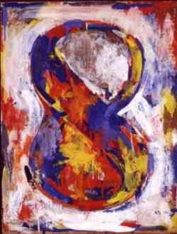 Movimento Dada -Jasper Johns - Figura 8 -1959