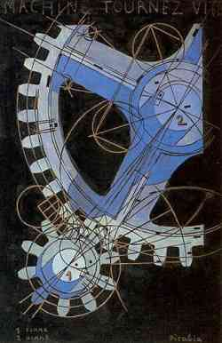 Movimento Dada - Francis Picabia - La machine tourne vite