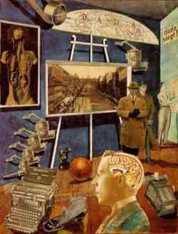 Movimento Dada -Raoul Hausmann - Dada Siegt - 1920