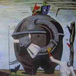 Movimento Dada -Max Ernst - Celebes 1921