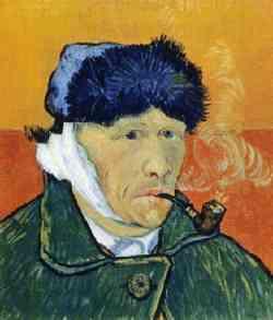 Corrente Espressionista - Vincent Van Gogh - Autoritratto 1889