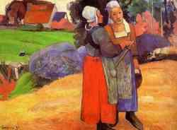 Corrente Espressionista - Paul Gauguin - Donne bretoni 1894
