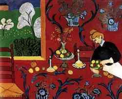 Corrente Espressionista-Hanri Matisse - La stanza rossa 1909
