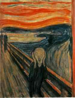 Corrente Espressionista-Eduard Munch - The scream (l'urlo) 1893