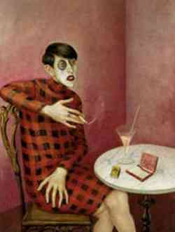Otto Dix - La giornalista 1926