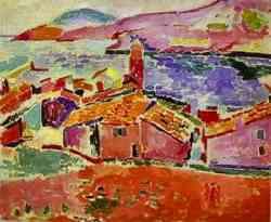 Corrente dei Fauves - Hanri Matisse - View of Collioure 1904