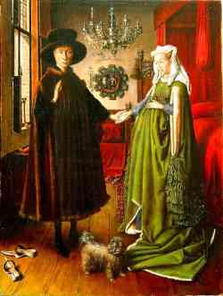Corrente Fiamminga Jan Van Eyck - Coniugi Arnolfini