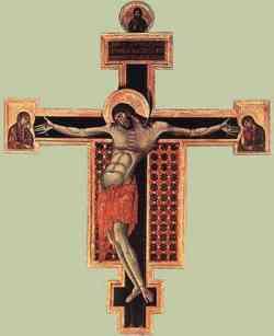 Pittura gotica del Cimabue