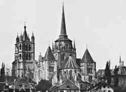 Progotico della Cattedrale di Losanna