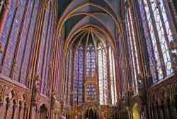Gotico radiante della Sainte chapelle