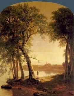 Hudson River School - Asher Durand Brown 1850