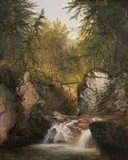 Hudson River School - John F. Kensettn 1855