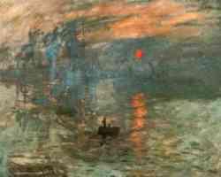Impressioniti - Claud Monet - Impressione:levar del sole 1874