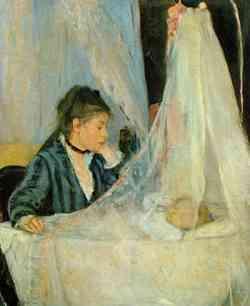 Impressionisti - Berthe Morisot - La culla