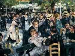 Auguste Renoir, Bal au Moulin de la Galette, 1876 esempio di impressionismo