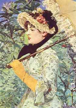 impressionismo di Edouard Manet - Printemps 1881
