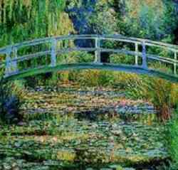impressionismo di Claude Monet Waterlily Pond, 1899