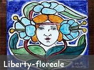 Liberty o Stile Floreale
