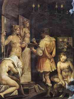 Manierismo - Casa Vasari - Lo studio del pittore