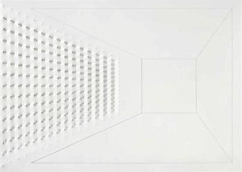 Enrico Castellani corrente minimalista