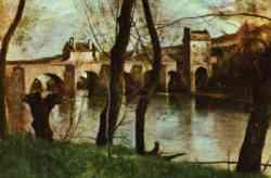 Naturalismo - Camille Corot - Ponte di Mantes