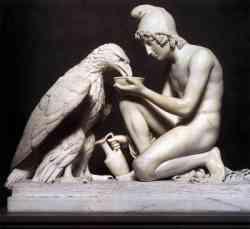Neoclassicismo - Thorvaldsenb- Ganimede e l'aquila