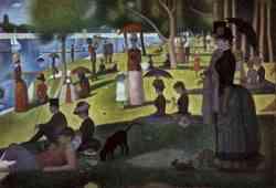 Un pomeriggio nell'isola della Grande Jatte, (1884)