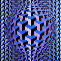Corrente Optical Art - Victor Vasarey