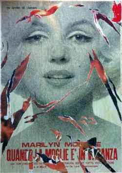 Corrente Pop Art - Mimmo Rotella