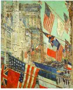 Realismo Americano - Hassam
